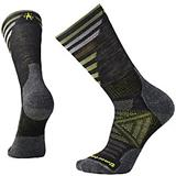 Smartwool LIGHT Pattern Crew Charcoal unisex Socken