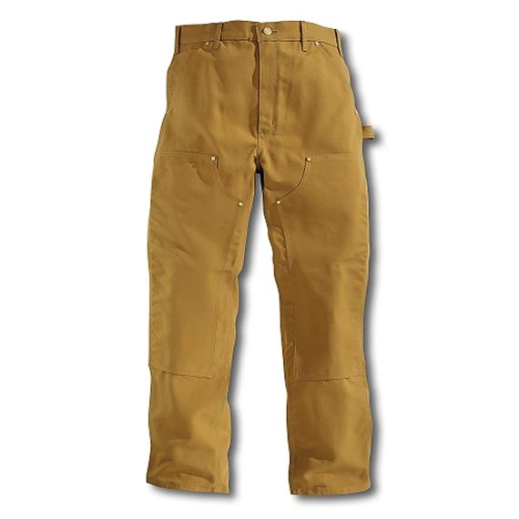 Carhartt D. DOUBLE FRONT LOGGER Pant Dungare camel - 36/30 Taille 91 cm / Schritt 76 cm