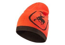 Deerhunter CUMBERLAND gestrickte Mütze, wendbar, Orange/Braun, One Size
