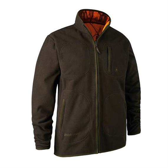 Deerhunter GAMEKEEPER reversible Jacket green/orange - Grösse L