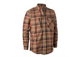 Deerhunter HEKTOR Hemd DH Orange check