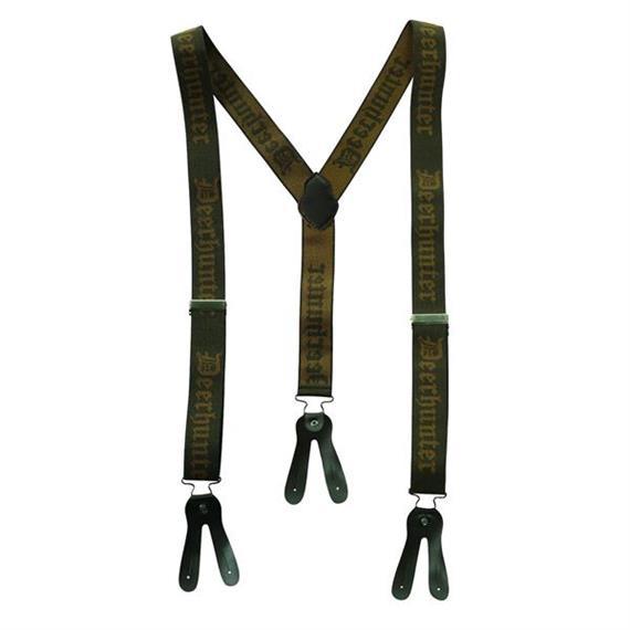 Deerhunter Hosenträger, für Knöpfe, Länge 130 cm