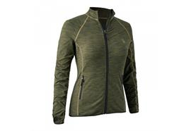 Deerhunter LADY INSULATED Fleece DH Green melange