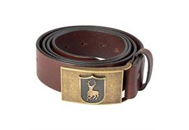 Deerhunter Leder Gurt 4 cm breit Cognac