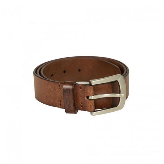 Deerhunter Leder Gurt 4cm breit Cognac Brown - 105 cm