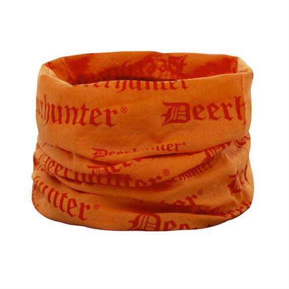 Deerhunter LOGO Halsmanschette, Orange, One Size