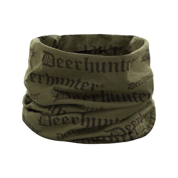 Deerhunter LOGO Halsmanschette, Tarmac Green, One Size