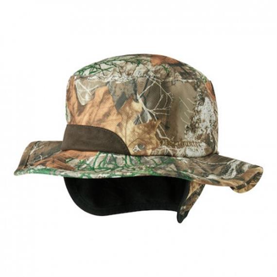 Deerhunter MUFLON Hut, Camouflage Edge/Orange, wendbar - 56/57