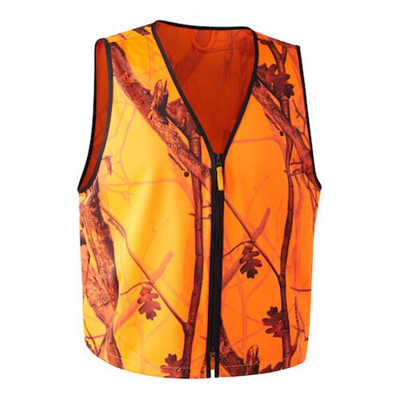 Deerhunter PROTECTOR Weste pull-over, Orange/Camou - XXL/3XL