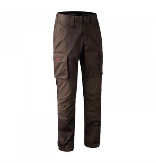 Deerhunter ROGALAND stretch Trousers Brown Leaf - C56