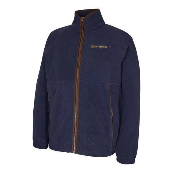 Deerhunter WINGSHOOTER Fleece Jacket Graphite Blue - Grösse XXL