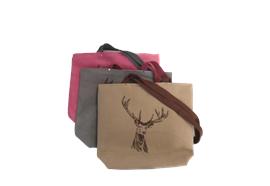 Einkaufstasche mit Hirschmotiv