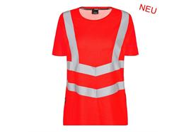 ENGEL Safety Damen kurzarm T-Shirt rot