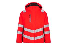 ENGEL Safety Damen Winterjacke, rot/schwarz - Grösse L