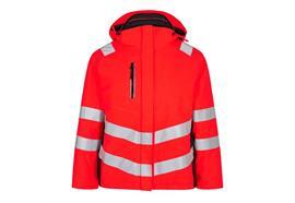 ENGEL Safety Damen Winterjacke, rot/schwarz