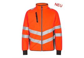 ENGEL Safety Fleecejacke orange/anthrazit