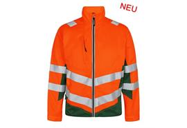 ENGEL Safety light Arbeitsjacke orange/grün - Grösse M