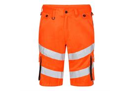 ENGEL Safety light Shorts orange/grau - Grösse 48