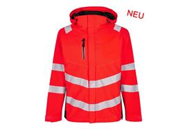 ENGEL Safety Shelljacke rot/schwarz