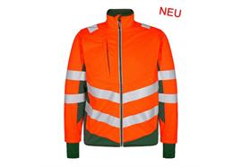 ENGEL Safety Softshelljacke orange/grün