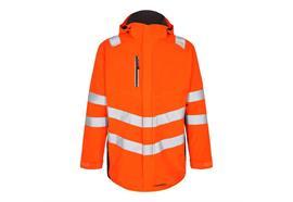 ENGEL Safety Softshellparka, orange/grau
