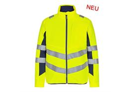 ENGEL Safety Stepp-Innenjacke gelb/blau
