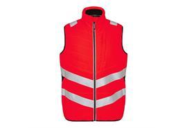 ENGEL Safety Stepp-Innenweste, rot/schwarz - Grösse 5XL Übergrösse