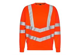 ENGEL Safety Sweatshirt, orange - Grösse M