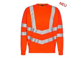 ENGEL Safety Sweatshirt orange