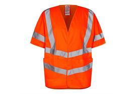 ENGEL Safety Weste mit kurzen Ärmeln, orange