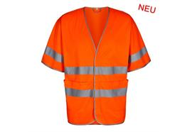 ENGEL Safety Weste mit kurzen Ärmeln orange