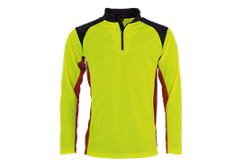 FENNOTEX Tapio Expert Coolmax Langarmshirt gelb/rot