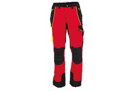 FENNOTEX Tapio Expert Schnittschutzhose rot/schwarz, Normalgrösse - Grösse 3XL
