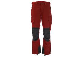 FENNOTEX Tapio Force Arbeitshose, rot/schwarz, Normalgrösse