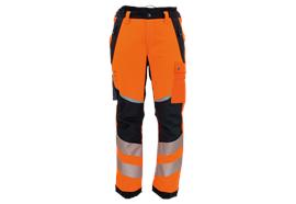 FENNOTEX Tapio Protect Schnittschutzhose EN 381-5 und EN ISO 20471, Kurzgrösse
