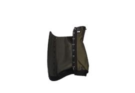 Forst-Gamasche Cordura zum Schnüren - Grösse XL