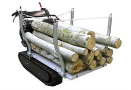 GKZ Holztransport-Aufbau für Raupentransporter GK 300 H GP