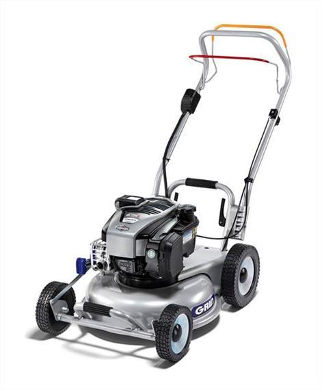 Grin HM46A 675iS Mulch-Rasenmäher mit Radantrieb und Elektrostart 46 cm Schnittbreite