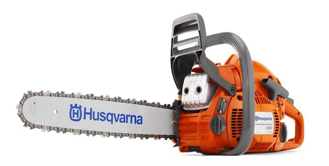 Husqvarna 450 Allround-Motorsäge 38 cm Schwert