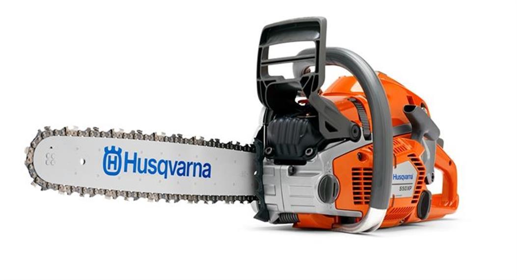 Husqvarna 550 XPG II Profi-Motorsäge Schwert 45 cm mit Griffheizung