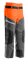 Husqvarna Beinlinge Classic, orange/grau, Einheitsgrösse