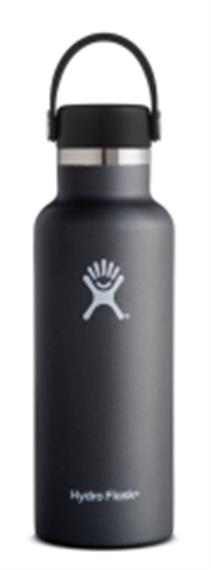 Hydro Flask black 0.532 Liter (18 oz)