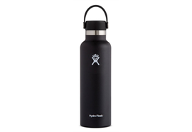 Hydro Flask black 0.621 Liter (21 oz)
