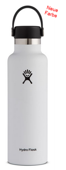 Hydro Flask white 0.621 Liter (21 oz)