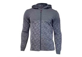 IVANHOE OF SWEDEN ROY Herrenpullover Hood Grey