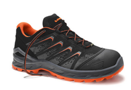 LOWA LARROX Work GTX Lo S3 Schwarz/Orange