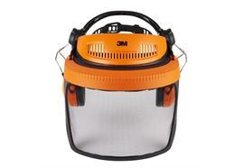 Peltor Gehör- und Gesichtsschutz Kombination G500, mit Netzvisier, orange