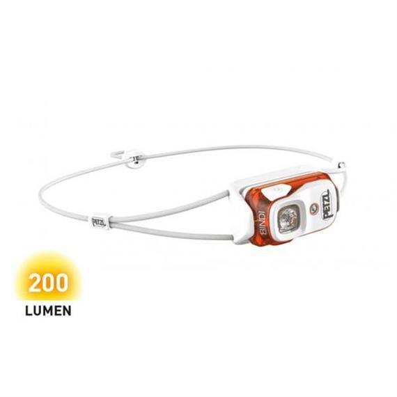 Petzl Stirnlampe BINDI organe 200 Lumen Ladung mit USB-Kabel