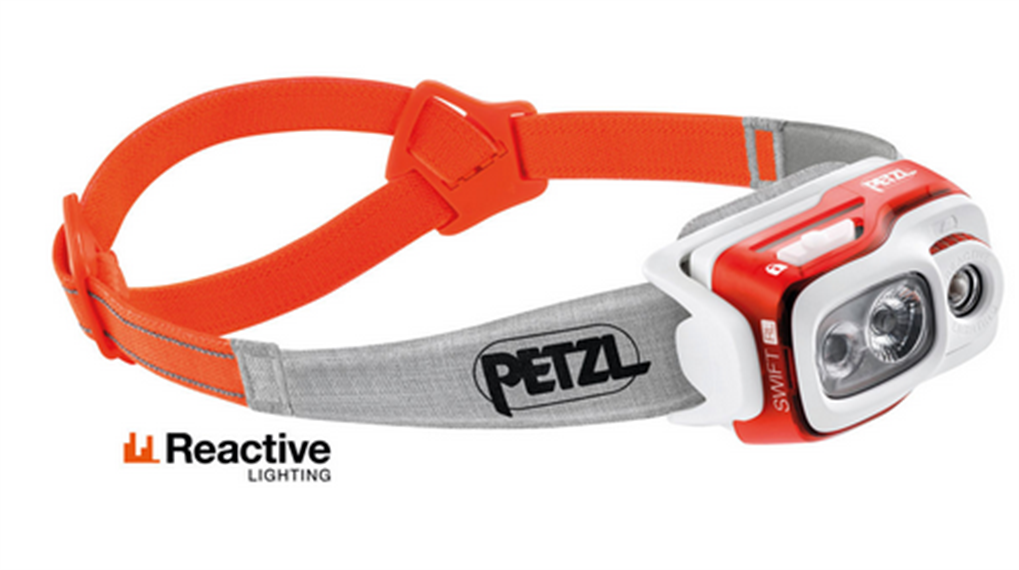 Petzl STIRNLAMPE SWIFT RL ORANGE