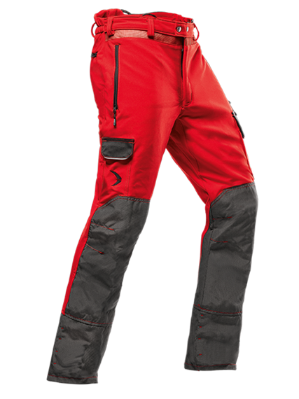 Pfanner ARBORIST Schnittschutzhose Typ A rot, normal - Grösse L